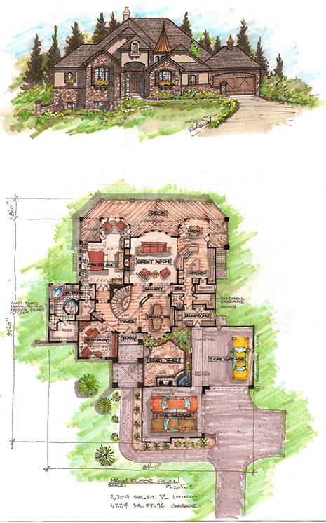Custom Home Floor Plans and Blueprints in Colorado Springs