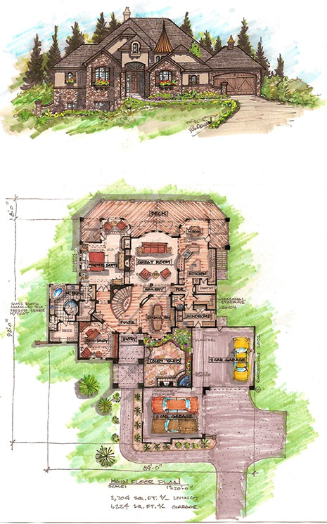 Custom home floor plans and blueprints in colorado springs custom home floor plans in colorado springs co malvernweather Choice Image