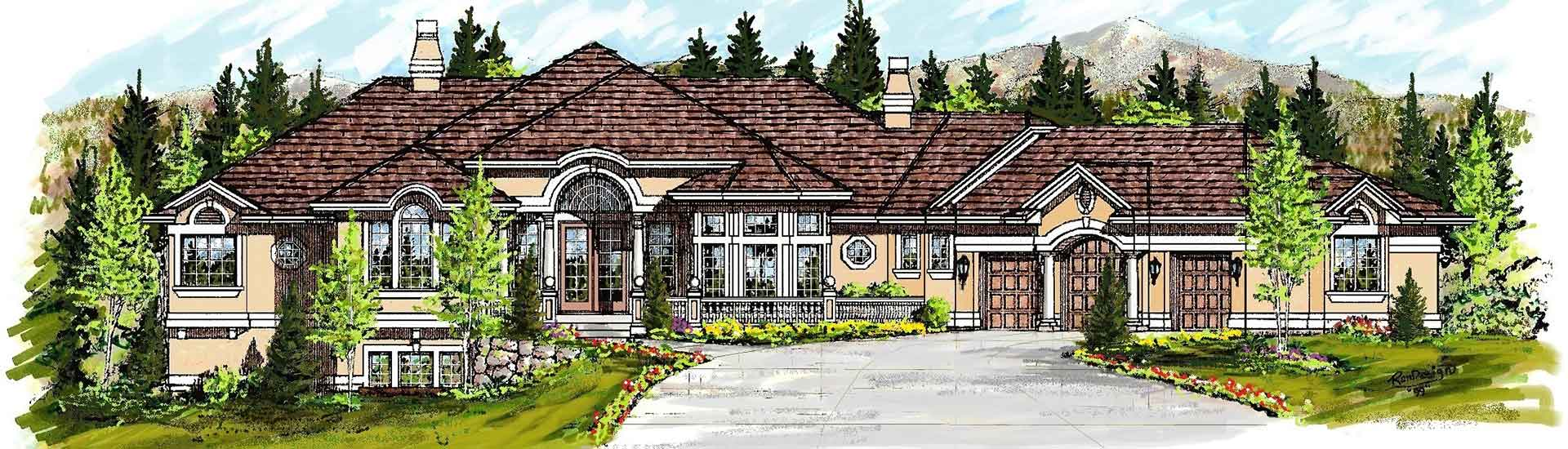 Custom home floor plans and blueprints in colorado springs custom home floor plans in colorado springs co malvernweather Images